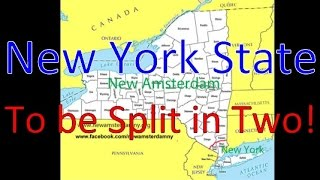 #NY State To be Separated into Two