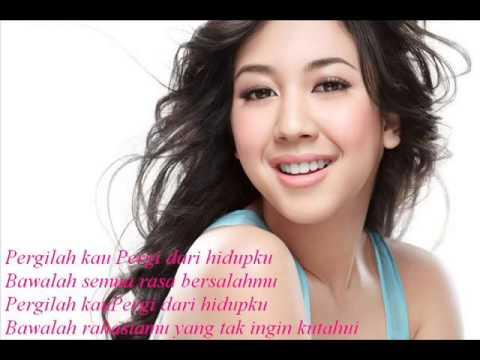 Sherina Munaf - Pergilah kau lirik