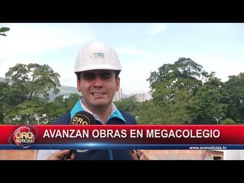 AVANZAN OBRAS EN MEGACOLEGIO VICENTE AZUERO DE FLORIDABLANCA - ORONOTICIAS.TV