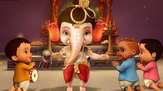 Ganpati Bappa Aa Rahe Hai Kids Song | Hindi Rhymes for Children | Infobells