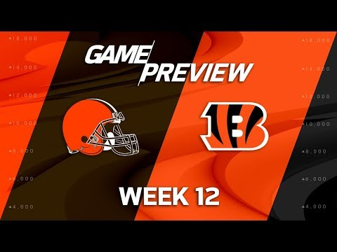 Cleveland Browns vs. Cincinnati Bengals | NFL Week 12 Game Preview