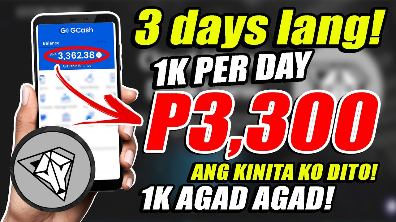 3 DAYS ONLY! GCASH! ₱3,300 ANG KINITA KO DITO! 1K PER DAY | LEGIT PAYING SITE - WITH PROOF!