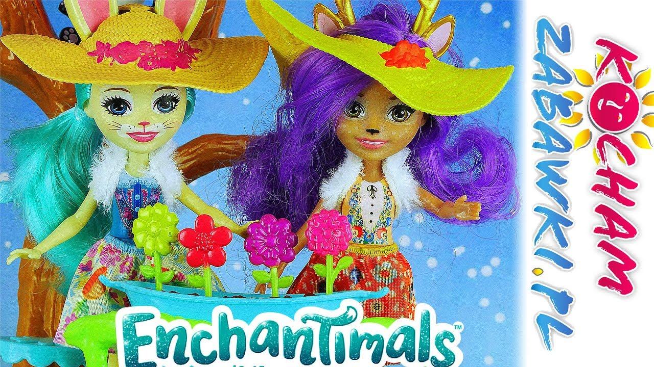 Enchantimals • Magiczny ogród • Sadzenie kwiatków • Bajki po polsku