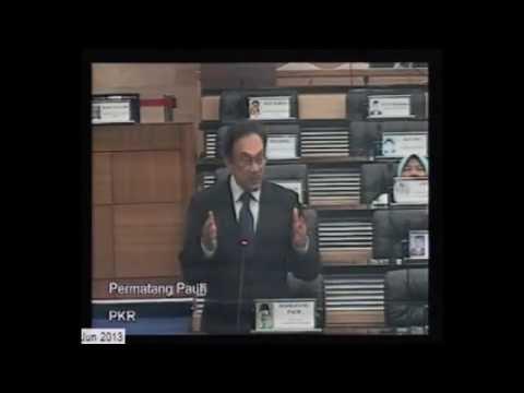 Ketua Pembangkang Bahas Titah Diraja 2013