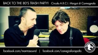 Mantrasound & Cane Giallo intervistano  ALBERTO CAMERINI - MARGOT (Carmagnola- TO)