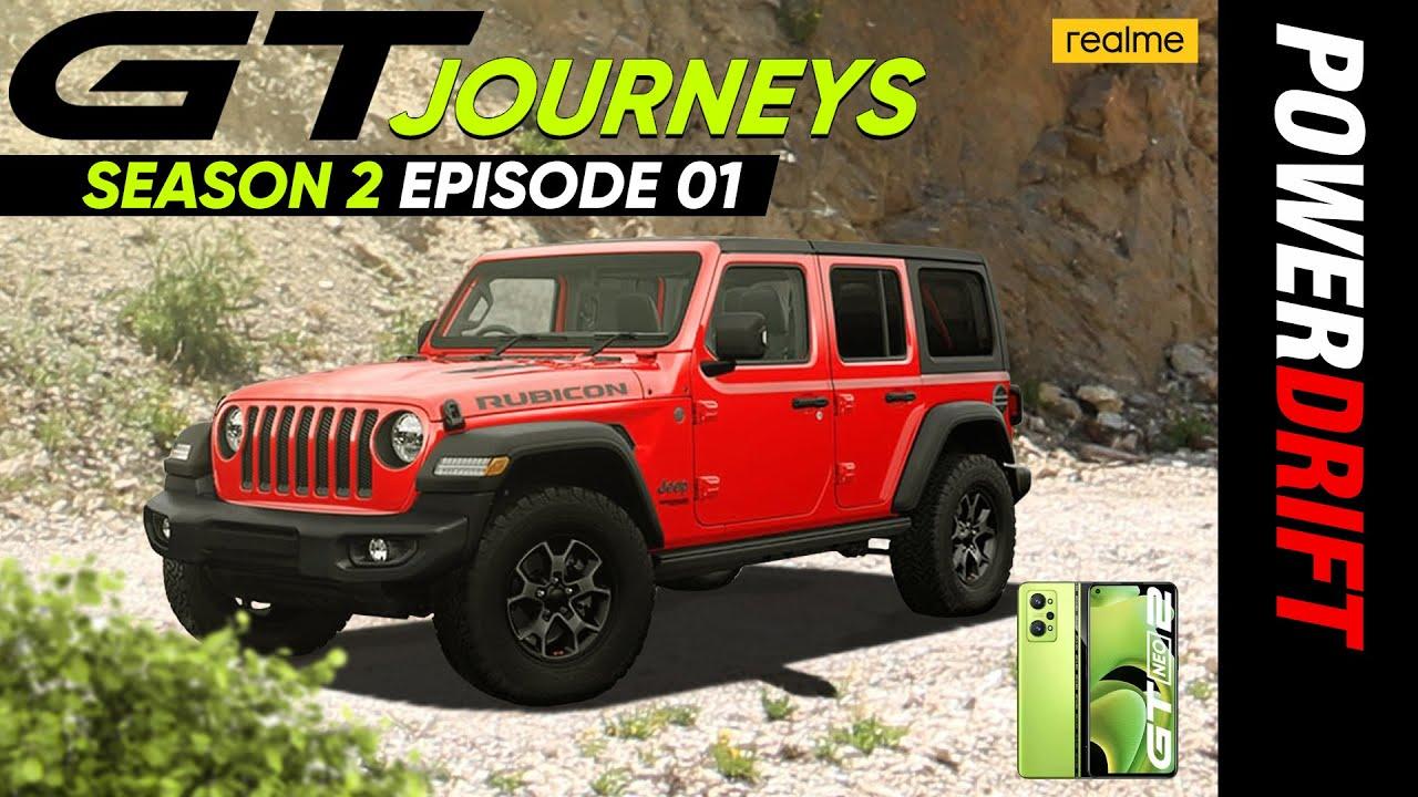 Download GT Journeys | OG SUV - Jeep Wrangler | Ep 1 | Season 2 | PowerDrift x realme India | Giveaway Alert