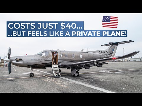 TRIPREPORT - PRIVATE JET EXPERIENCE! | Boutique Air | Pilatus PC-12 | Oakland, CA - Merced, CA