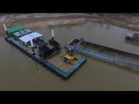 MBI 007 Slurry Processing Unit Dredge Material Unloader