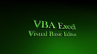 Programming in Excel Lesson 1 - Visual Basic Editor Tutorial