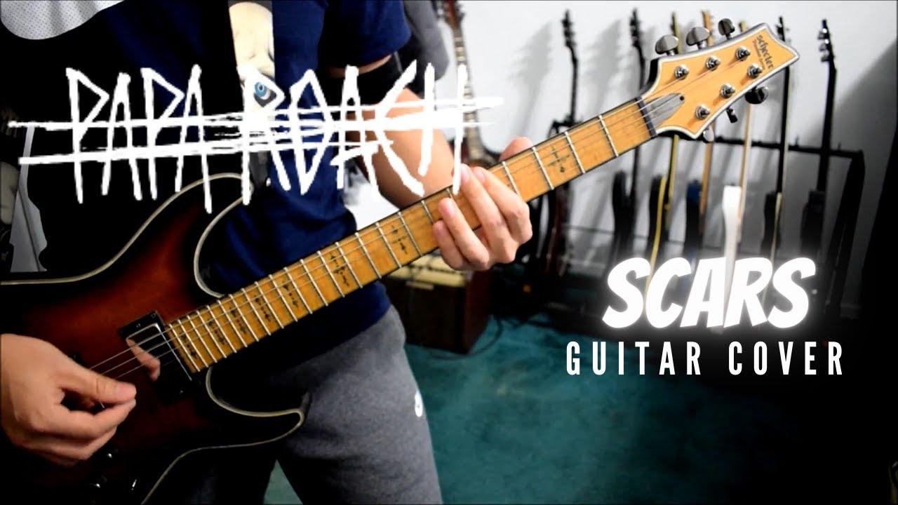 Scars By Papa Roach Guitar Tutorial Youtube Go