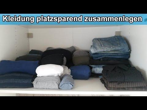 Kleiderschrank Organisieren Kleidung Platzsparend