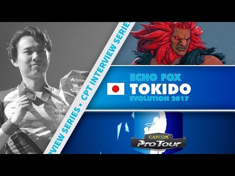 SFV: CPT Interview Series - Tokido (EVO 2017 Winner)