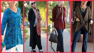 MODERN CLOTHING FOR LADIES OF 50 AND 60 YEARS TRENDS 2019