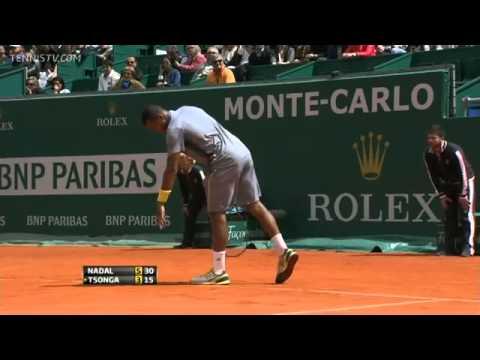 Nadal vs Tsonga - Masters MONTECARLO 2013 (SF) - Full Match HD