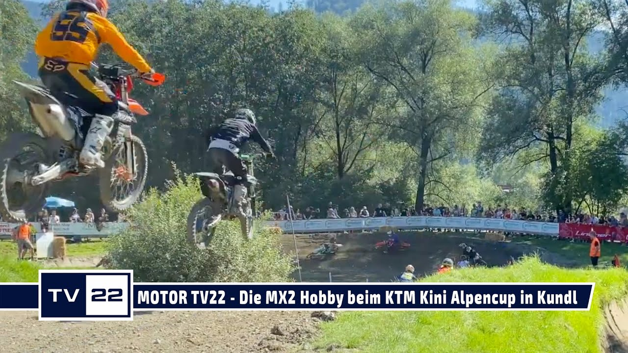 MOTOR TV22: Die MX2 Hobby beim KTM Kini Alpencup in Kundl 2021