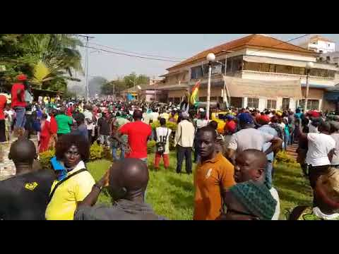 Major Protest March in Bissau 16 November 2017 -2