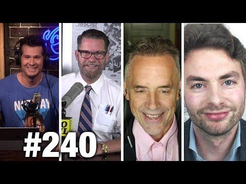 #240 ADAM RUINS HUMOR! Jordan Peterson, Gavin McInnes and Paul Joseph Watson | Louder With Crowder