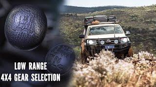 4x4 Gear Selection Low Range