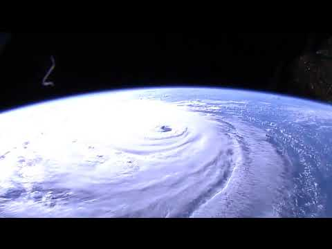 Hurricane Florence from the International Space Station
