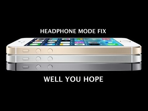 headphone mode iphone how to fix an iphone in headphone mode 5272