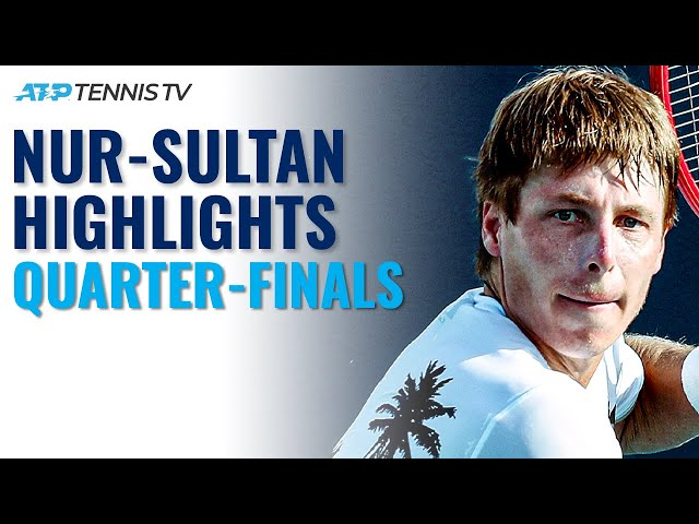 Ivashka Takes On Ruusuvuori; Bublik and Djere In Action | Nur-Sultan 2021 Quarter-Final Highlights