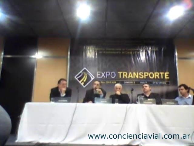 2012 - ExpoTransporte - Análisis de Dell' Olio sobre qué podemos hacer con el tránsito y la educació