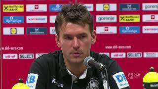 Die Pressekonferenz mit Christian Prokop nach dem EM-Aus