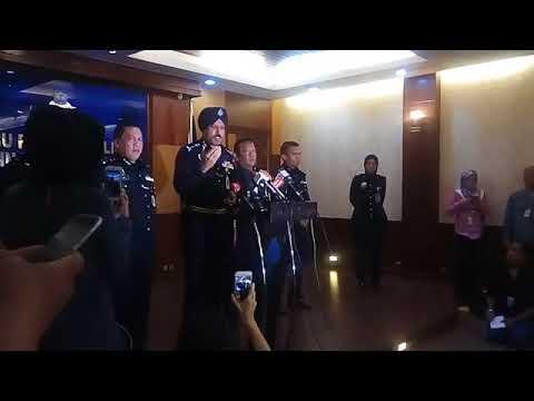 Sidang media Ketua Polis Kuala Lumpur berhubung kes kebakaran Pusat Tahfiz