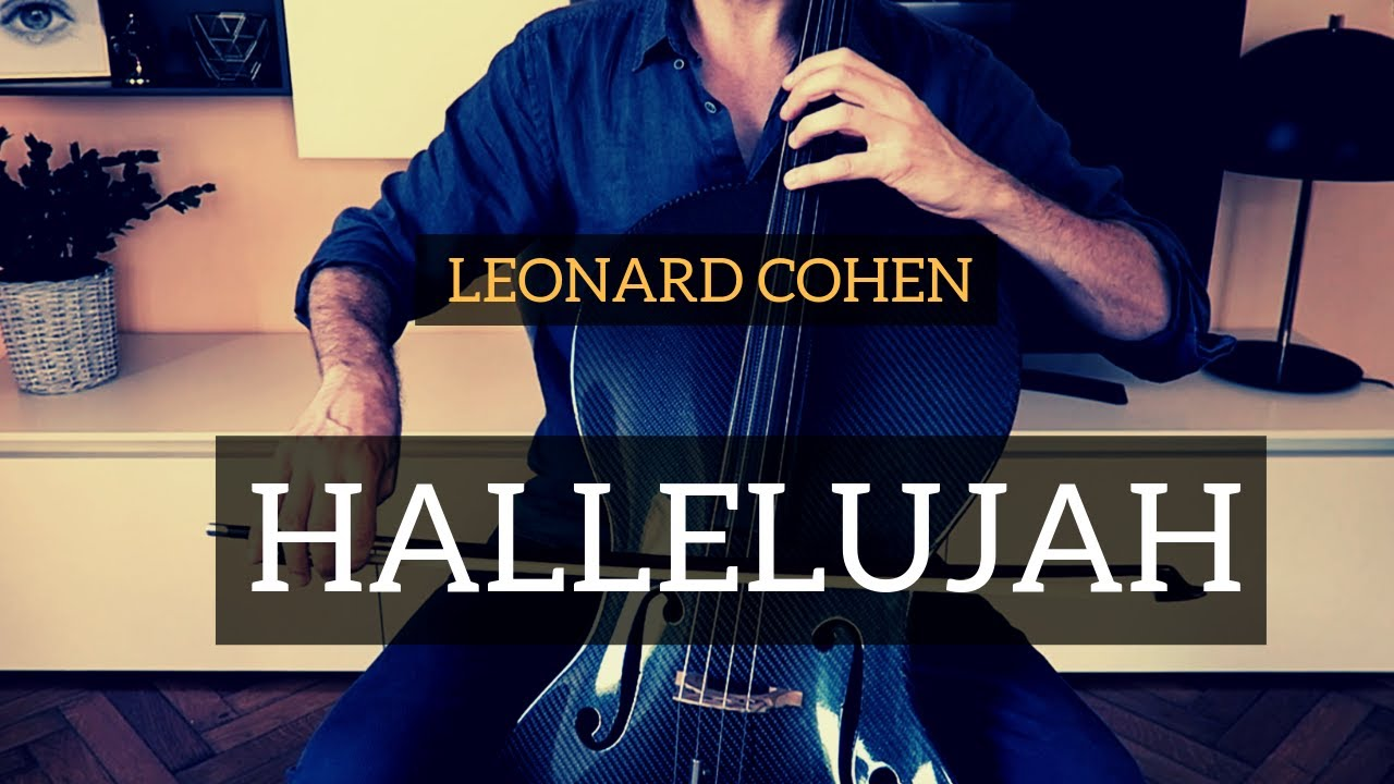 Leonard Cohen - Hallelujah for cello and piano (COVER)