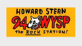 WYSP Rock94 Philadelphia - Howard Stern first day on WJFK in DC- Oct 2 1988  (4/5)