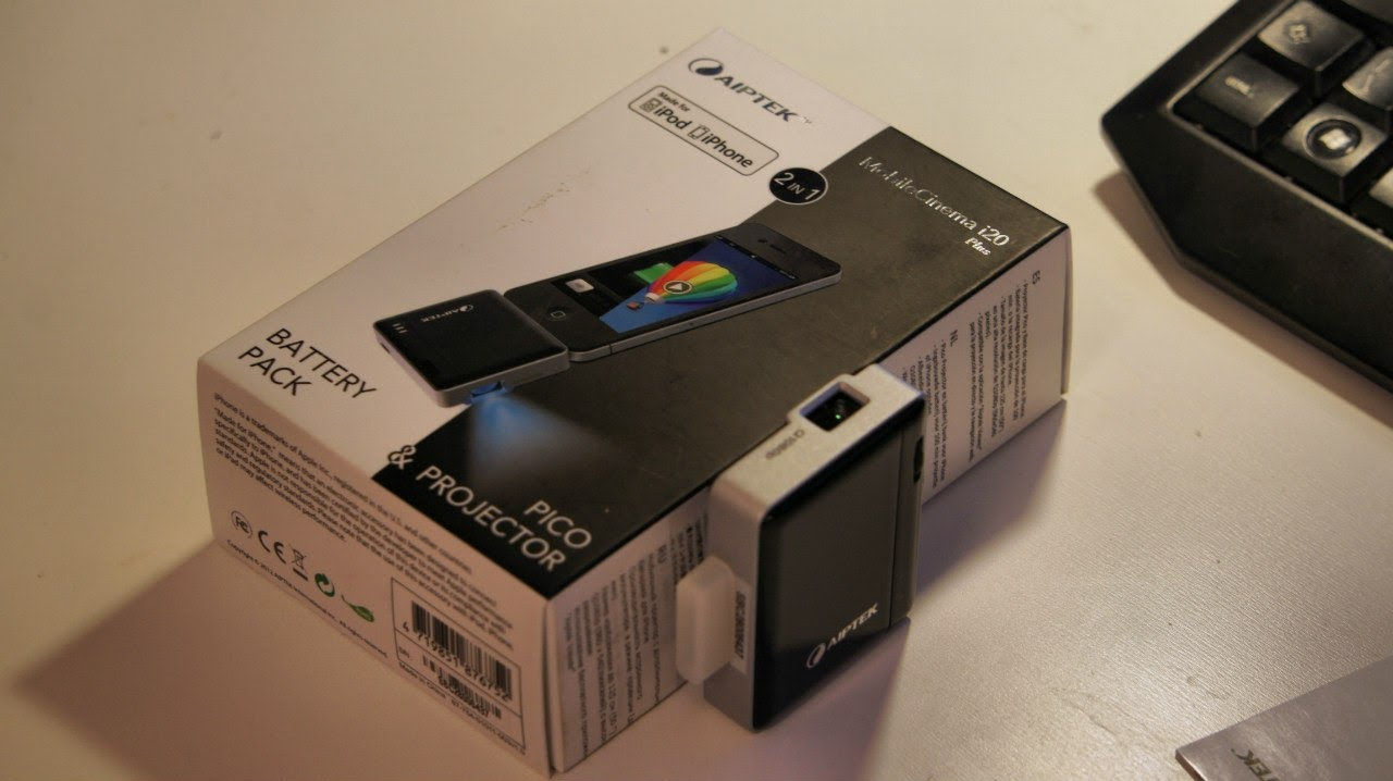 Aiptek Mobile Cinema i20.mp4 - YouTube