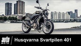 Husqvarna Svartpilen 401 ESSAI POV Auto-Moto.com