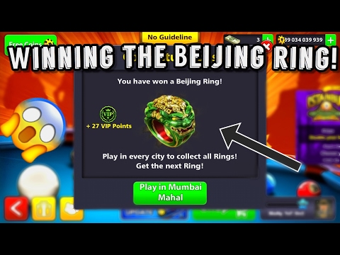 8 BALL POOL - AMAZING BALL CONTROL & POSITIONING + GETTING THE BEIJING RING!
