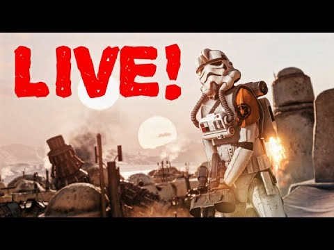 ROAD TO 700 SUBS! STARWARS  BATTLEFRONT 2 LIVE!!