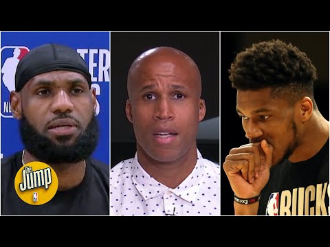 Reacting to LeBron James' frustration with Giannis winning 2019-20 NBA MVP | The Jump