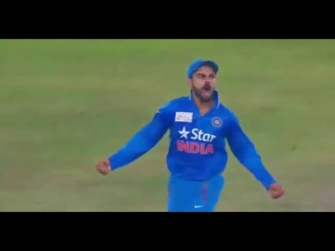 Virat Kohli run out Khurram Manzoor in Asia Cup 2015
