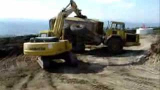 Accident - Dumper Truck Drifting