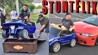 COPS CALLED! 🚨👮 HE FELL ON HIS HEAD! DUMBEST TOY CAR FAILS EVER!