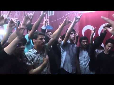 Turkish Azerbaijani Terrorists-Anti Armenian Gathering In Baku