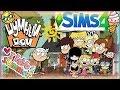 Sims 4 герои из мультика Шумный Дом mp3