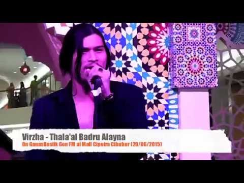 Virzha - Thala'al Badru Alayna On #GanasKustik Gen FM At Mall Ciputra Cibubur @DiDevirzha