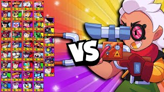 Belle 1v1 Vs EVERY Brawler | Sneaky Strong! | #GoldArmGang