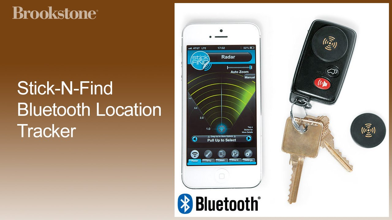 Stick-N-Find Bluetooth Location Tracker Complete How to Video