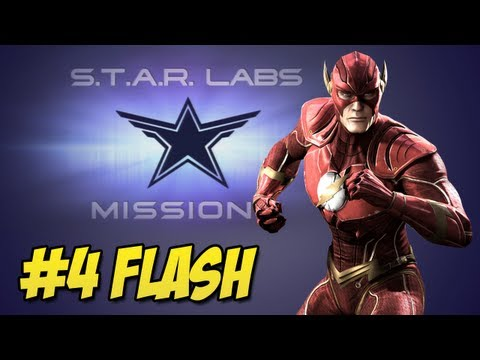 Star Labs - Injustice Gods Among Us - Injustice Gods Among Us: Star Labs #4 Flash