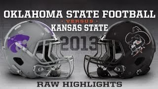 #21 Oklahoma State vs. Kansas State - 2013 Highlights