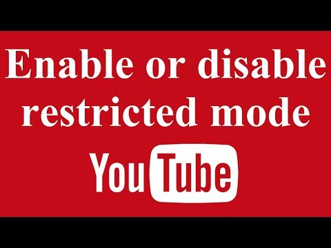 Enable or Disable Restricted Mode