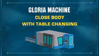 Metal Laser Cutting Machine - Gloria