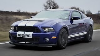 2013 Shelby GT500 road test English subtitles