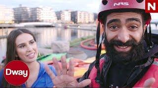 Dway   Turist i egen by - Episode 2: Kajakk i Akerselva med Cecilie fra Ex on the Beach   TVNorge