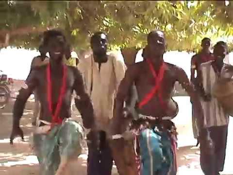 Traditional Gour'mache Dance, Burkina Faso
